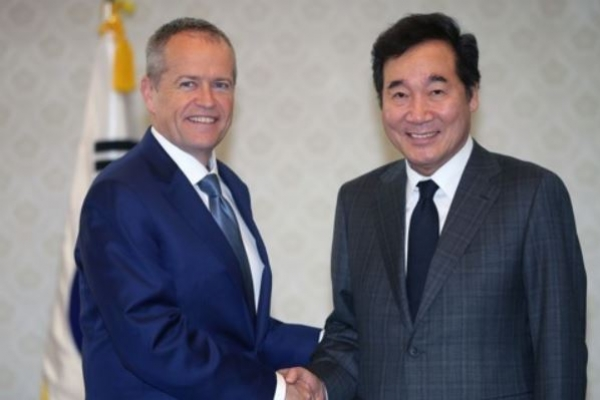 Australia's opposition leader reaffirms bipartisan support for S. Korea amid NK tensions