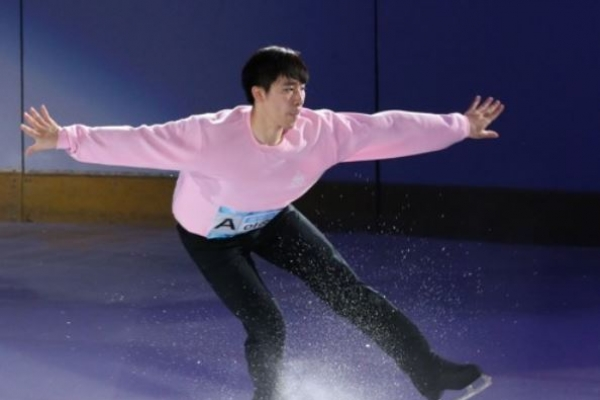 Ex-national men's figure skating champion chasing Olympic spot in final qualifying event
