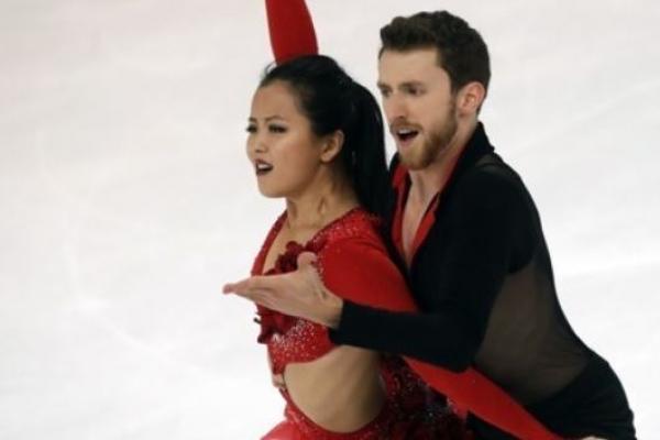 Korean ice dance team on Olympic bubble