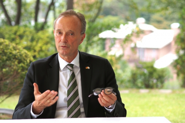 [Herald Interview] 'Germany, Korea shape globalization for sustainable future'