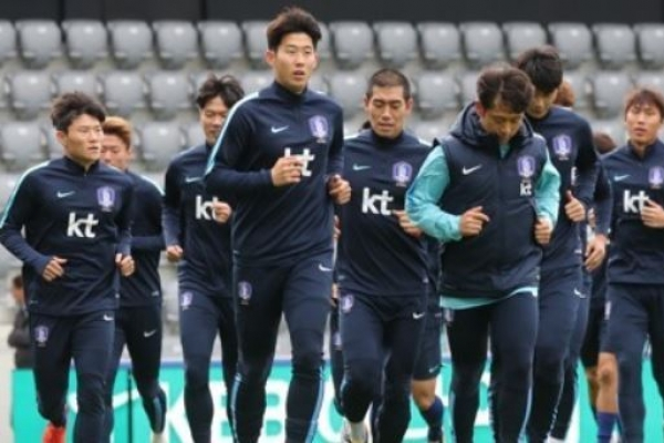 Korea in search of opponents for Nov. football friendlies