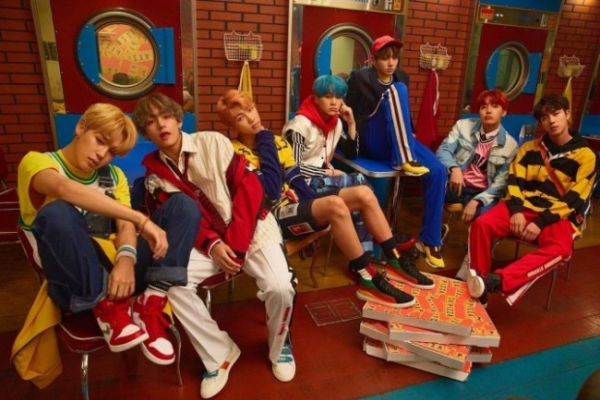 BTS remains on Billboard main charts for third-straight week