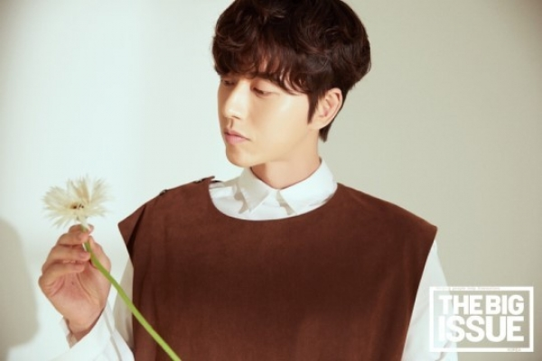 Nonprofit magazine sells out with Park Hae-jin as cover model