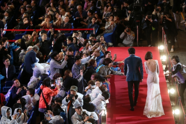 From Yoona to Moon Geun-young, female celebs go bold on BIFF's red carpet