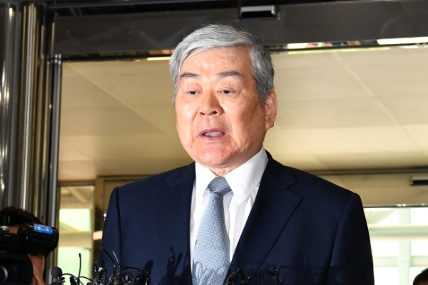 Hanjin chief faces detention over embezzlement