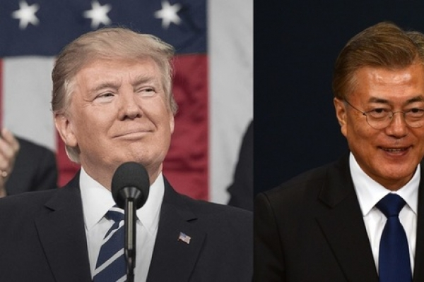 Moon, Trump to hold bilateral summit in Seoul on Nov. 7: White House