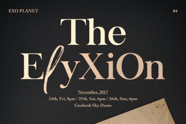 EXO to bring 'ElyXiOn' to Gocheock Sky Dome