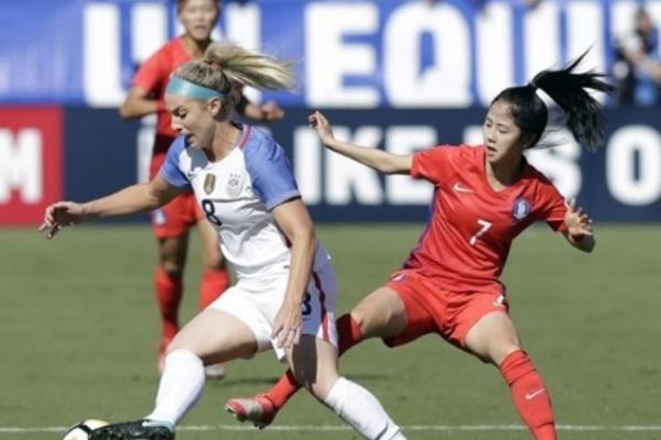 Korea crushed 6-0 by US in women's football friendly