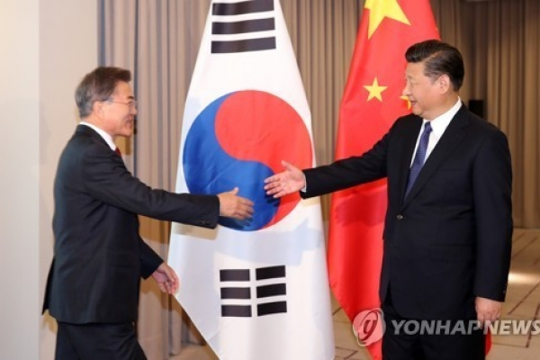 Korea, China agree to bring exchange, cooperation back onto 'normal' track
