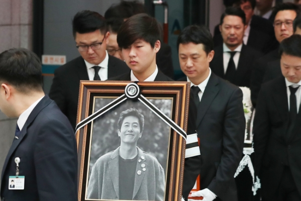 [Newsmaker] Actor Kim Joo-hyuk laid to rest in Seosan