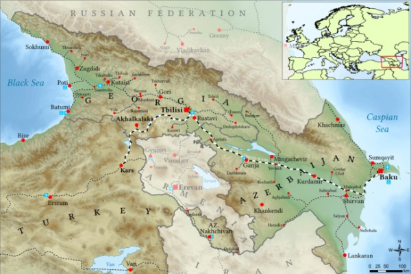 Baku-Tbilisi-Kars railway spurs Asia-Europe trade