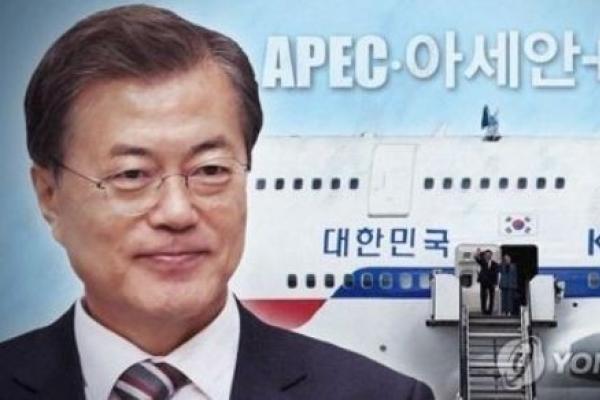 Korean president to embark on three-nation Southeast Asia trip