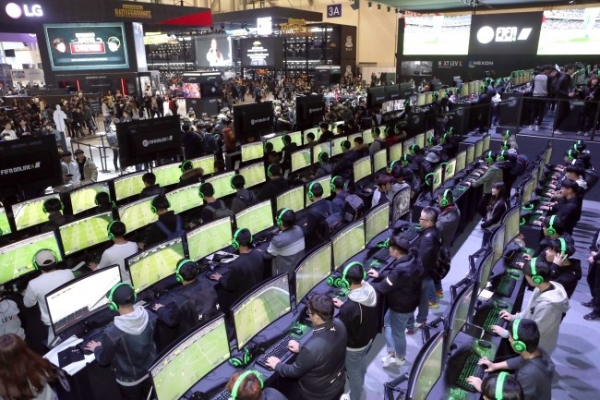 [Photo News] G-Star 2017 game convention kicks off in Busan