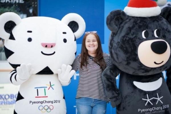 [PyeongChang 2018] PyeongChang mascots to promote Olympics in Washington