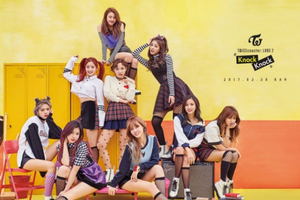 Twice's 'Knock Knock' tops most popular music video on YouTube