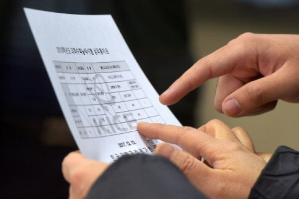 [Photo News] 'Suneung' scores delivered to 530,000 contenders