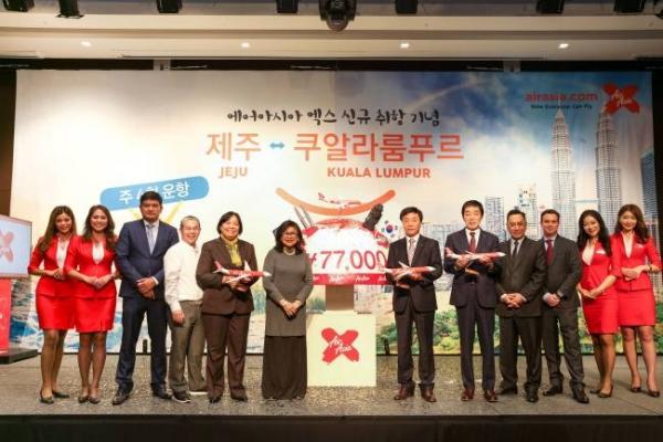 AirAsia X introduces Jeju-Kuala Lumpur direct flights