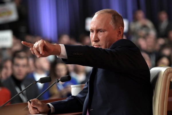 Putin warns against US strike on N.Korea