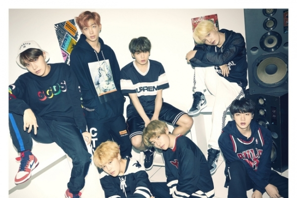BTS No. 13 on Oricon's annual singles chart