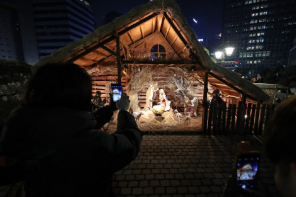 [Weather] Cold Christmas, with light snow possible late night