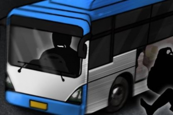 Elderly woman injured after getting dragged by bus