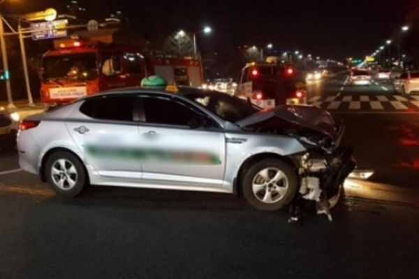 Drunk taxi driver involved in fatal accident on New Year's Day