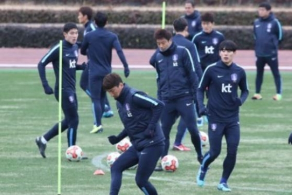 Korea men's football team to train in Turkey for 2018 World Cup prep
