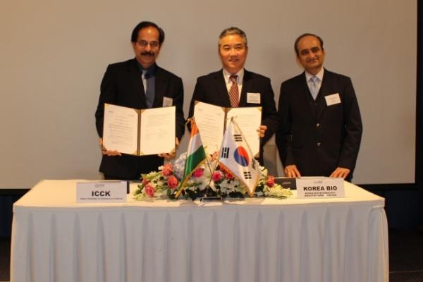 [Photo News] Expanding Korea-India pharmaceutical business ties