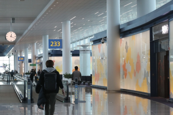 [Weekender] Art on the run at new Incheon terminal