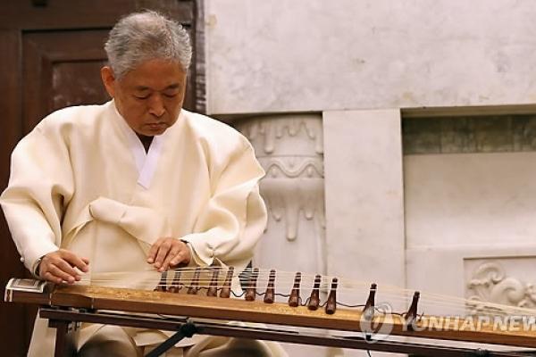 Korean music master Hwang Byung-ki dies at 82