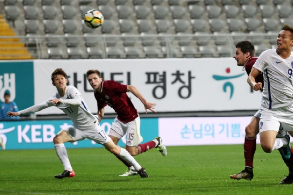 S. Korea blank Latvia in football friendly