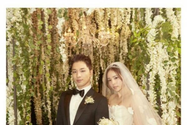 Big Bang's Taeyang, actress Min Hyo-rin marry in church ceremony