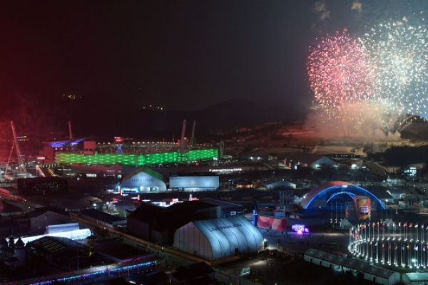 [Photo News] PyeongChang Olympic opening ceremony kicks off