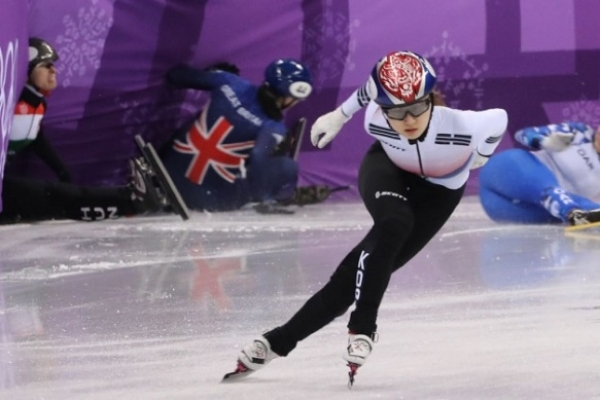 [PyeongChang 2018] Female short track star Choi Min-jeong ready for women's 500m final