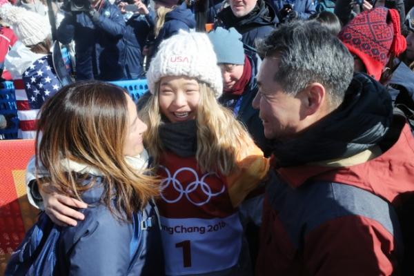 [PyeongChang 2018] Women's halfpipe champion says family drives her run