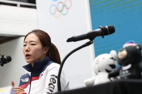 [PyeongChang 2018] Korean speed skater Lee Sang-hwa undecided on Beijing 2022