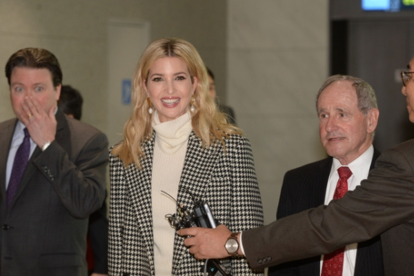 Ivanka says her visit will reaffirm 'commitment' to S. Korea