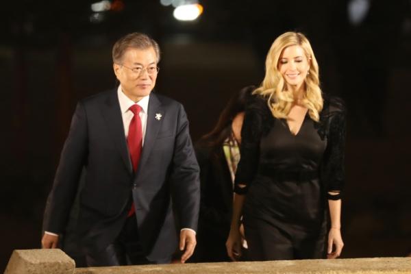 [Photo News] Ivanka's four-day trip for PyeongChang Olympics closing ceremony