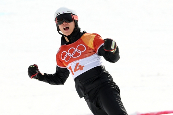 [PyeongChang 2018] South Korean alpine snowboarder Lee Sang-ho wins silver in men's parallel giant slalom