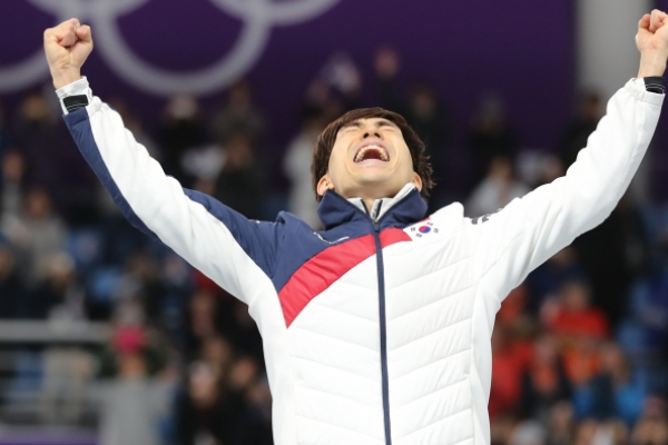 [PyeongChang 2018] S. Korea wins gold, silver in mass start skating