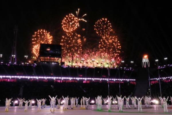 [Live Photo] Pyeongchang Olympics closing ceremony under way