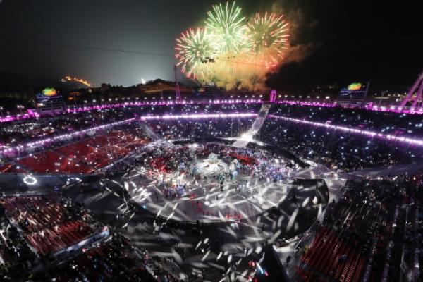 [PyeongChang 2018] PyeongChang draws curtains with messages of peace, progress, perseverance