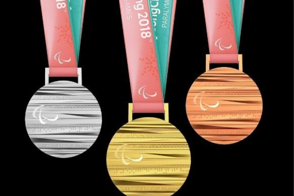 [PyeongChang 2018] Paralympic medals similar to Olympic medals, but differences hidden