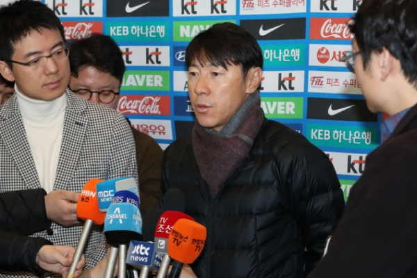 Korea football coach says reaching World Cup knockout stage is possible