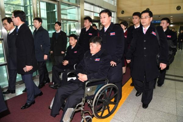 [PyeongChang 2018] N. Korean delegation to Paralympics arrives in S. Korea