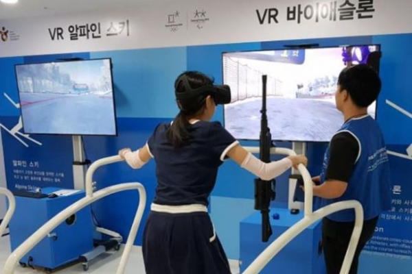 [PyeongChang 2018] Korea Tourism Organization offers VR experience to Paralympic visitors