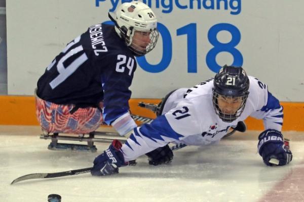 [PyeongChang 2018] Korean ice sledge hockey team falls 8-0 to US at PyeongChang Paralympics