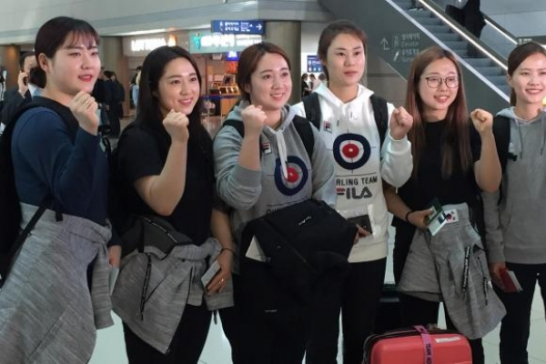 S. Korean women's curling team hoping to repeat Olympic success at world championship