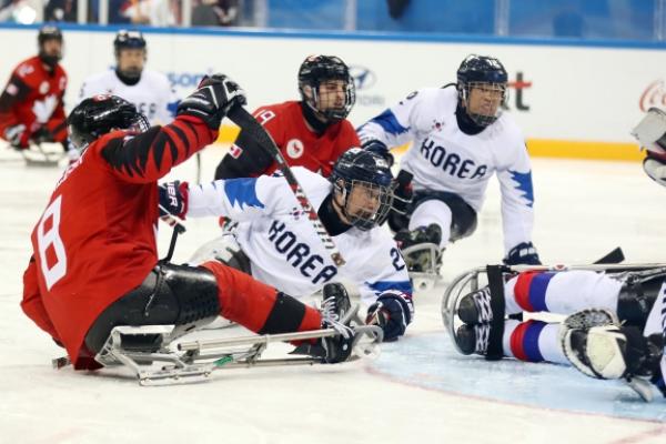 [PyeongChang 2018] S. Korea trounced 7-0 by Canada in ice hockey semifinals at PyeongChang Paralympics