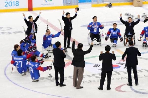 [PyeongChang 2018] S. Korea defeats Italy to take ice hockey bronze at PyeongChang Paralympics